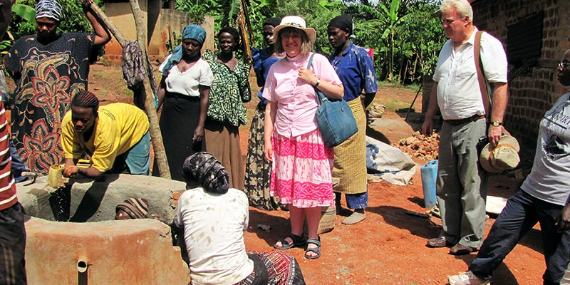 Busoga Water Trust Well Building