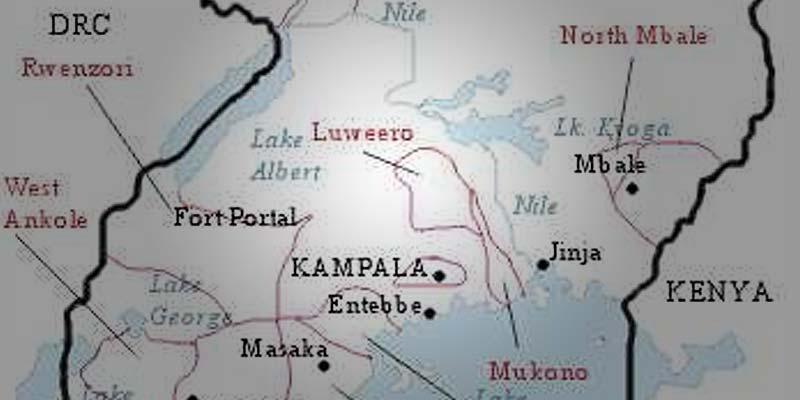 Luweero Map